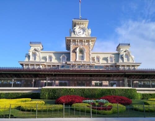 Walt Disney World Magic Kingdom entry