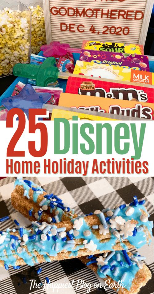 Disneyland at Home Holiday Activities