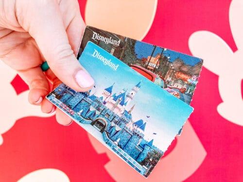 Disneyland Ticket Castle