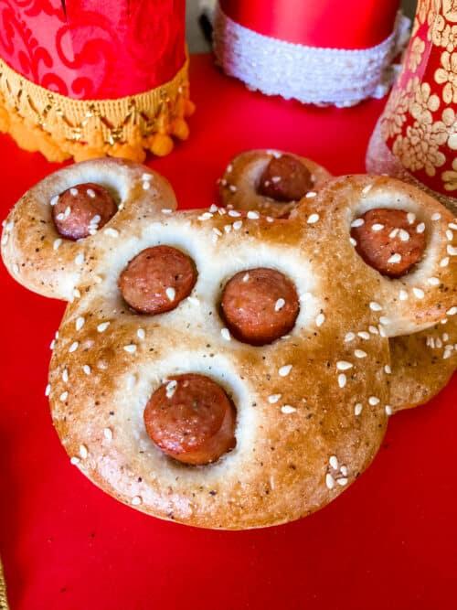 Lunar New Year Mickey recipe