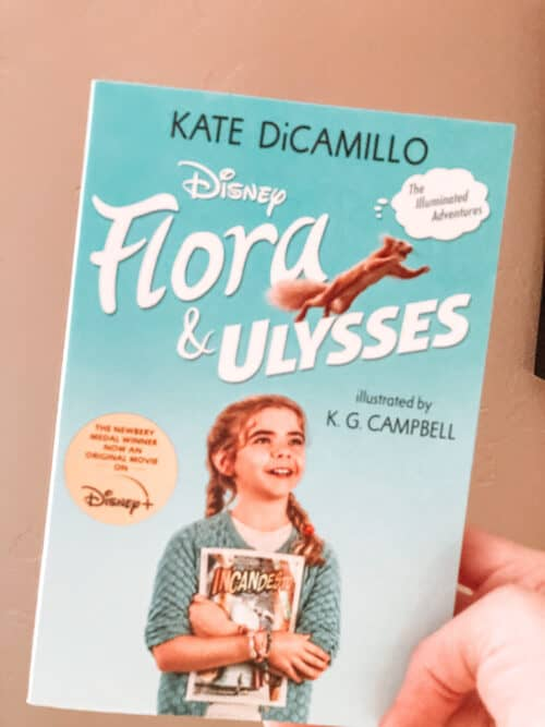 FloraAndUlyssesDisneyBook