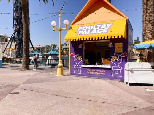 Poultry Palace Pixar Pier