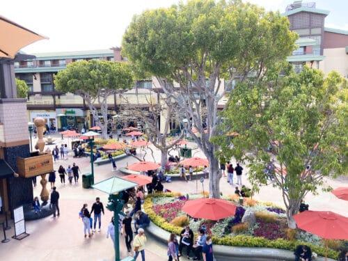 Downtown Disney views