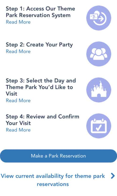 Make a Disneyland reservation