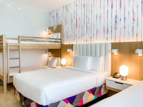 Radisson BLU bunk bed room
