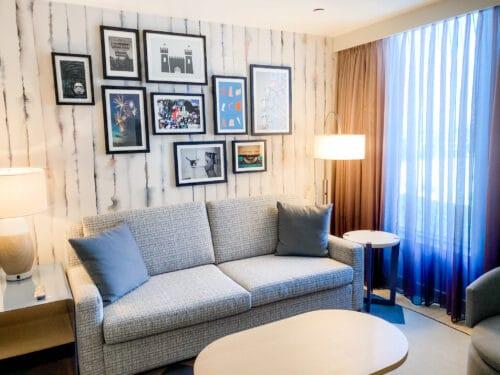 Radisson BLU living room suite