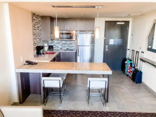 Residence Inn Anaheim kitchen hotel