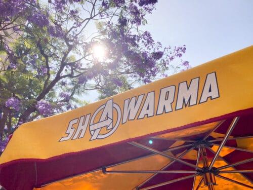 Sharwarma Sign
