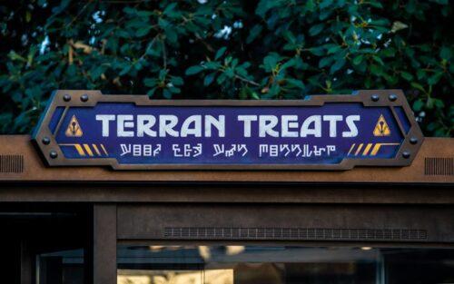 Terran Treats Avengers Campus Disney