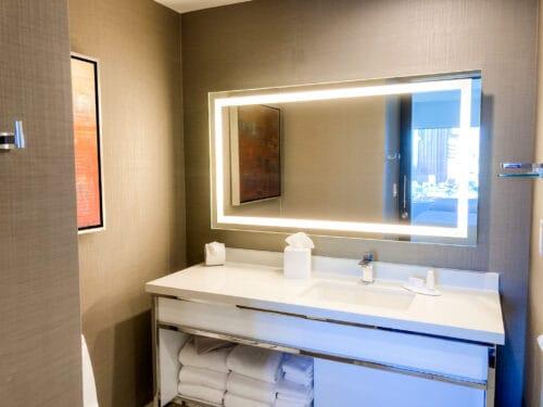 residence inn bathroom disneyland