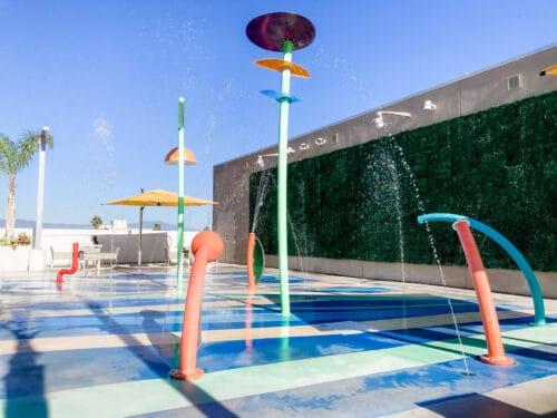 residence inn disneyland splash pad