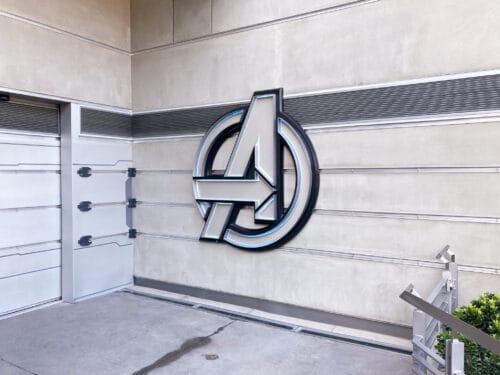 Avengers Campus photo spot