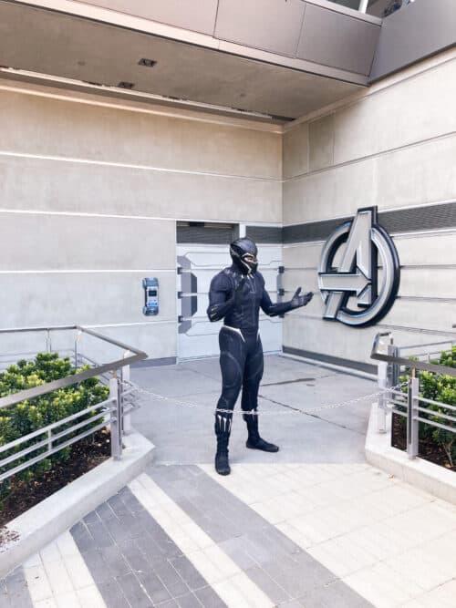 Black Panther Disneyland
