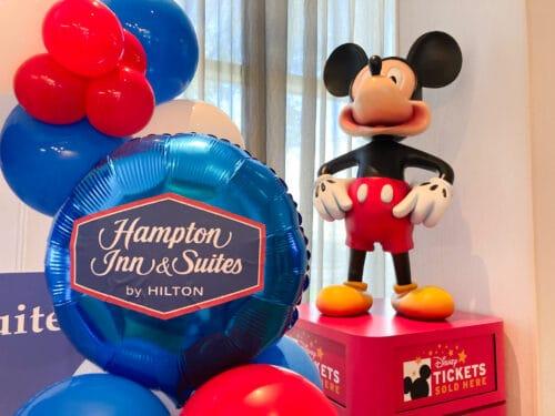 Hampton Inn Suites Anaheim Mickey