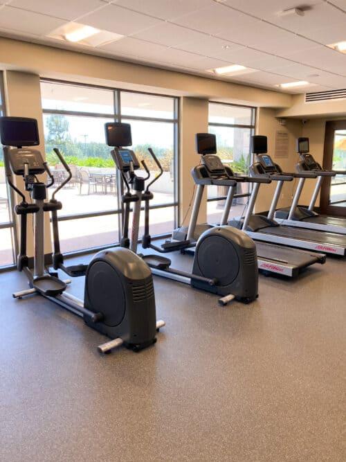 Hampton Inn gym