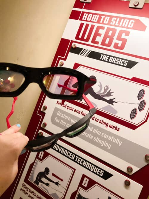 WEB Slingers Glasses