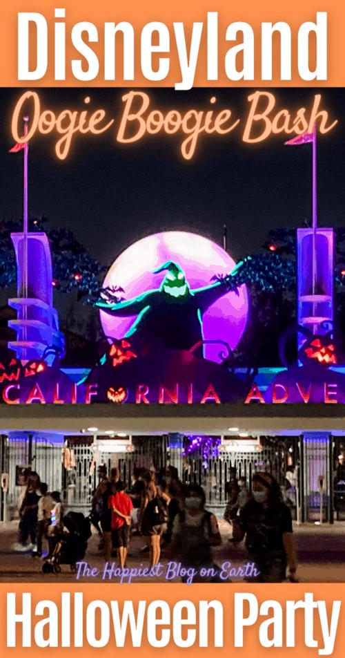 Disneyland Oogie Boogie Bash