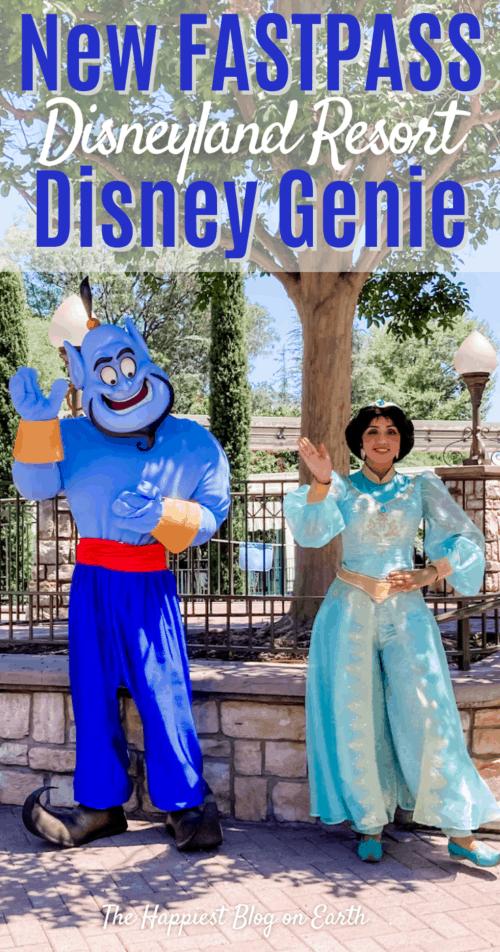 Disneyland Disney Genie