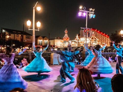 dancers Halloween parade disney