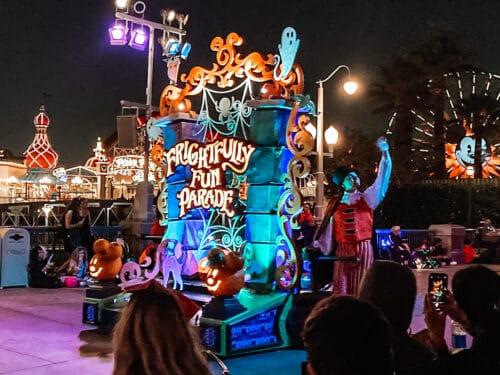 frightfully fun parade float