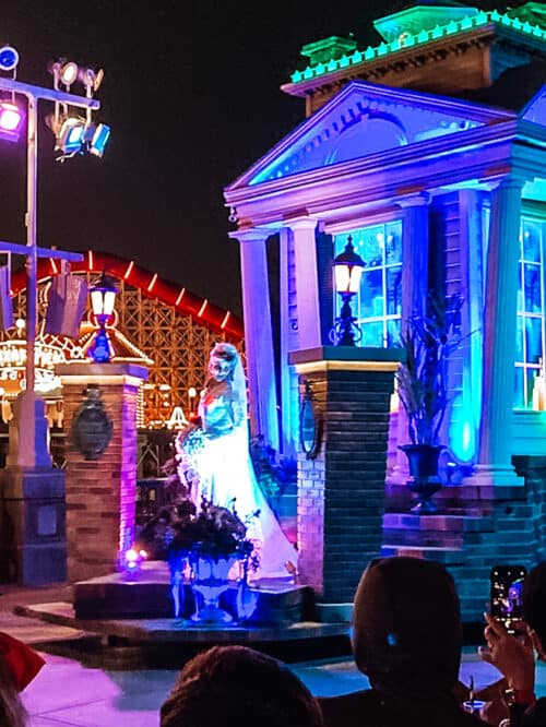 haunted mansion float parade