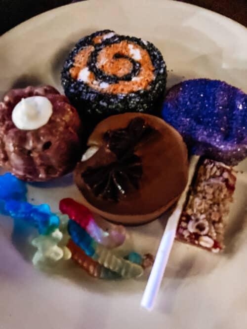 oogie boogie dessert party