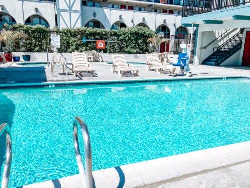 Castle Inn pool