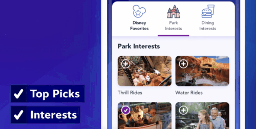 Disney Genie Itinerary Builder