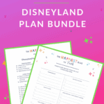 Disneyland Plan Bundle