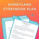 Disneyland Storybook Plan