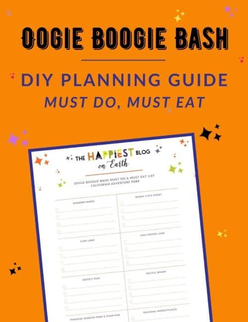 Oogie Boogie Bash printable