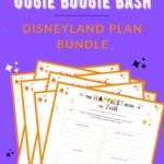 Oogie Boogie Bash Disneyland Plan